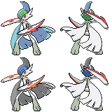 The Creature that is Mega Gallade by princess-phoenix