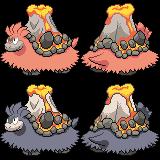 Mega Camerupt Sprite by princess-phoenix