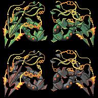 Mega Rayquaza Version 1 by princess-phoenix
