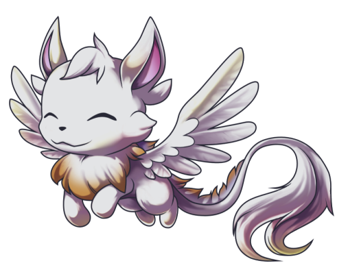 The nameless winged critter by princess-phoenix