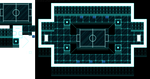 Virtual tournament room tileset