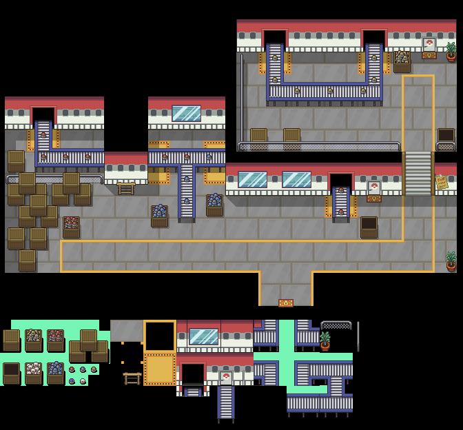 Pokeball Factory Tileset by princess-phoenix