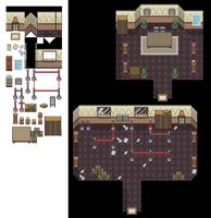 Post Office Interior Tileset by princess-phoenix
