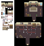 Post Office Interior Tileset