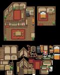 The Home of Excello Village Tileset