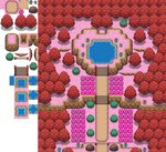 The Overly-Red Forest Tileset