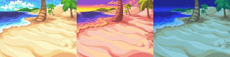 A Beach Background