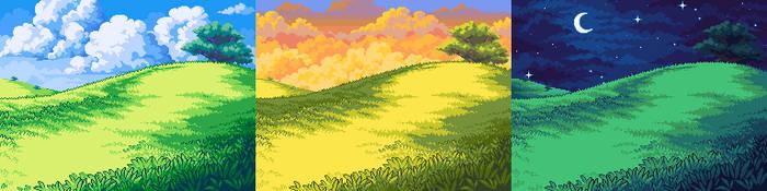 Endless Plains Background