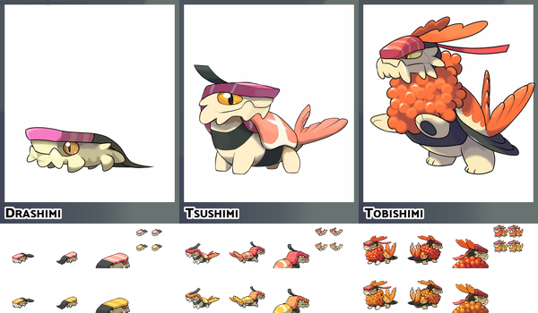 Sushi Fakemon