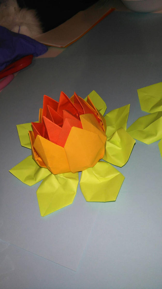 fire Lotus blossom  by AmeliaSnels1408
