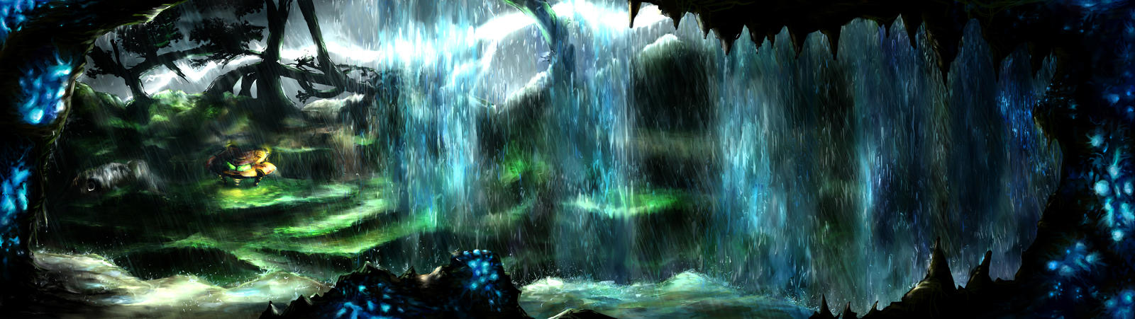 Metroid Metal: Where It All Begins.. by LightningArts