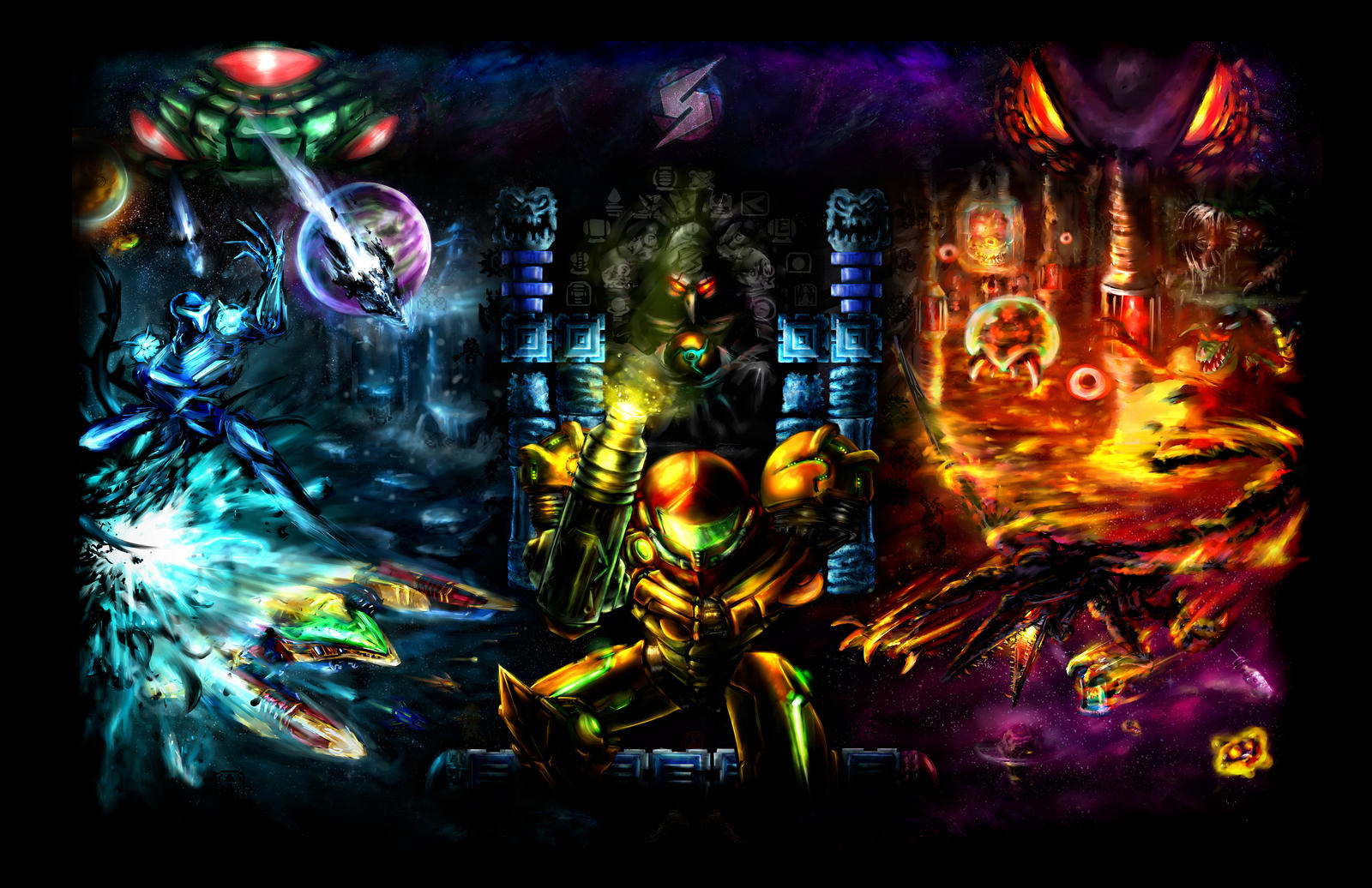 Harmony of a Hunter: Metroid 25 Years by LightningArts