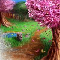Spectrum of Mana: Walk The Seasons by LightningArts