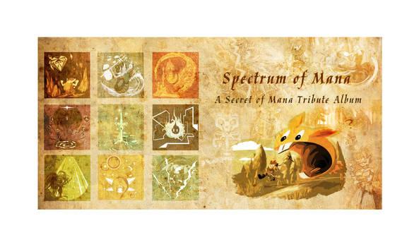 Spectrum of Mana: Album Book Back and Cover