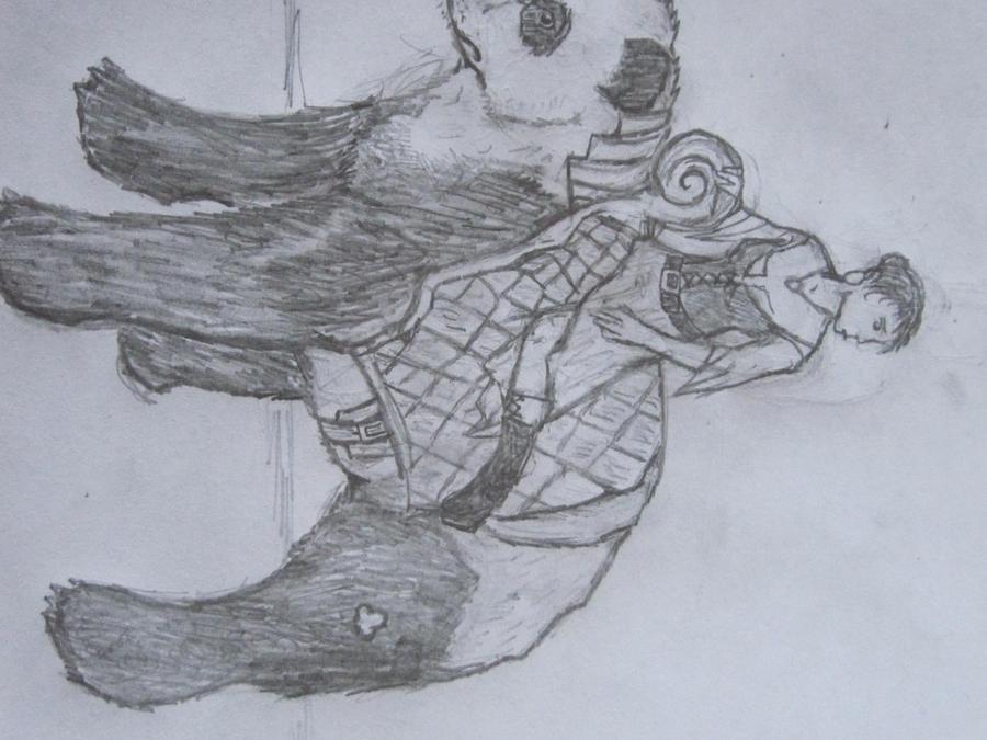 Panda Rider by Ratstien