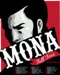 Mona Fall Tour Poster Concept
