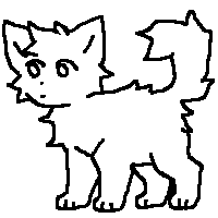 free cat line art by rupeeland