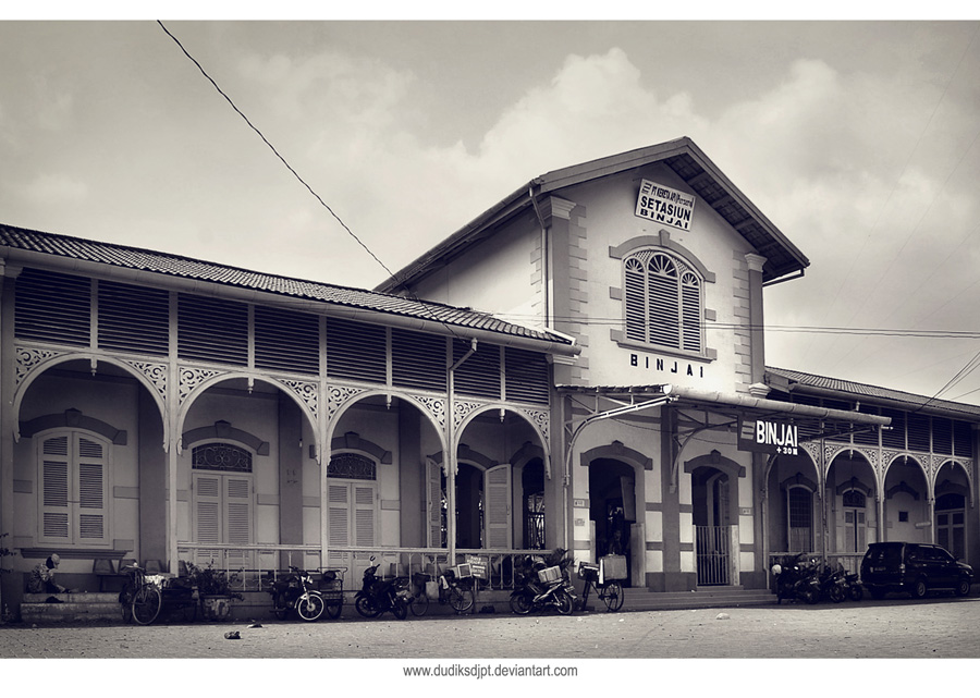 Binjai Train Station by dudiksdjpt