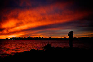 Monona Sunset 01 by StudioFovea