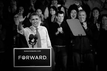 Barack Obama 2012 02 by StudioFovea