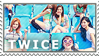 TWICE stamp by sandpaws