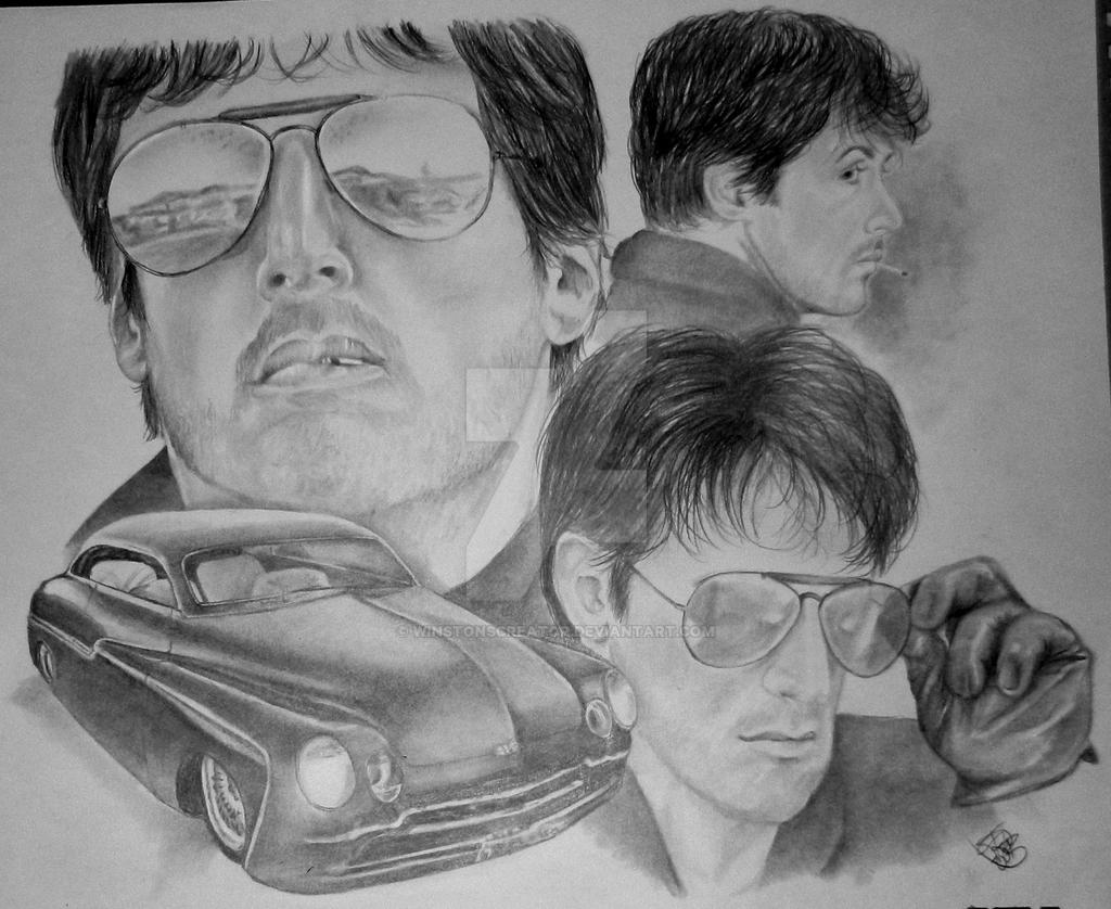 Cobra-Sly Stallone by winstonscreator