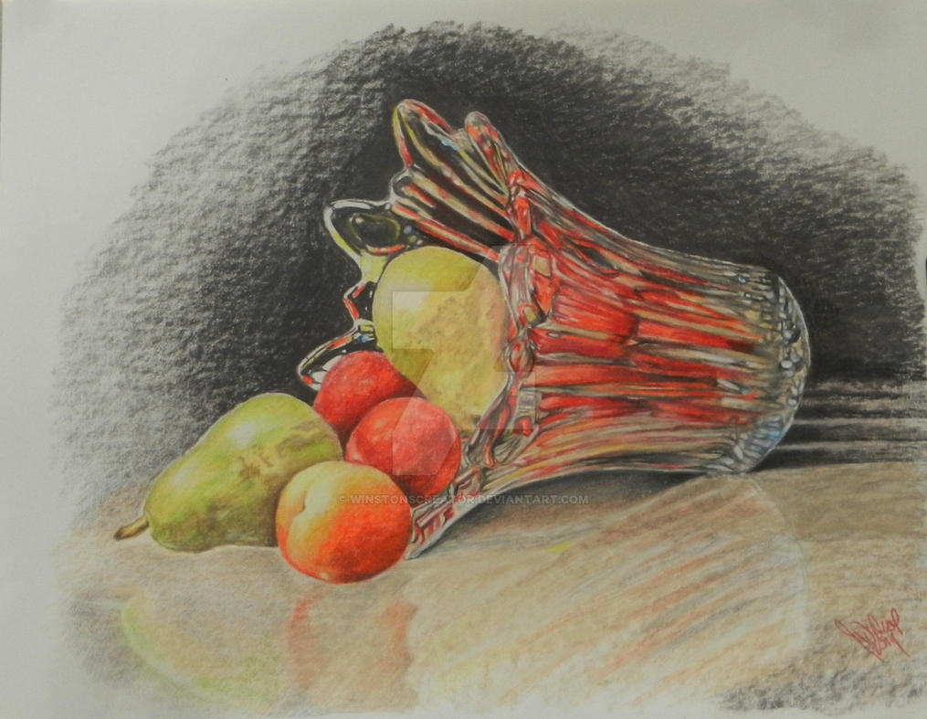 spilled fruit by winstonscreator
