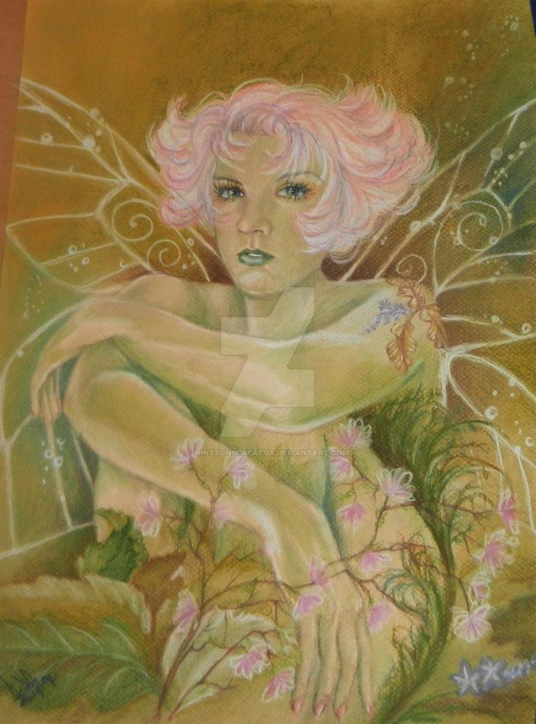 woodland fairy by winstonscreator