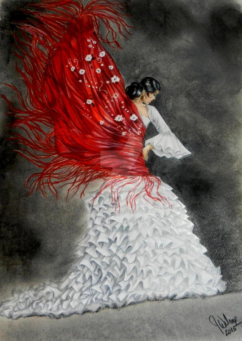 flashy flamenco by winstonscreator