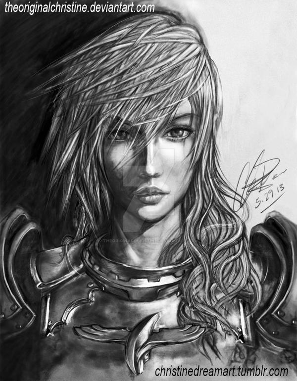 Etro's Champion Lightning: Final Fantasy XIII-2 by TheOriginalChristine
