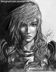Etro's Champion Lightning: Final Fantasy XIII-2