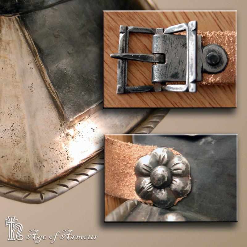 Burgonet Details by Ageofarmour