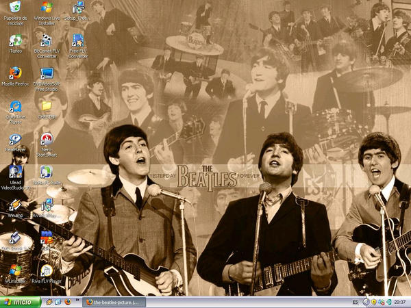 The Beatles Wallpaper by ChesterDEAN