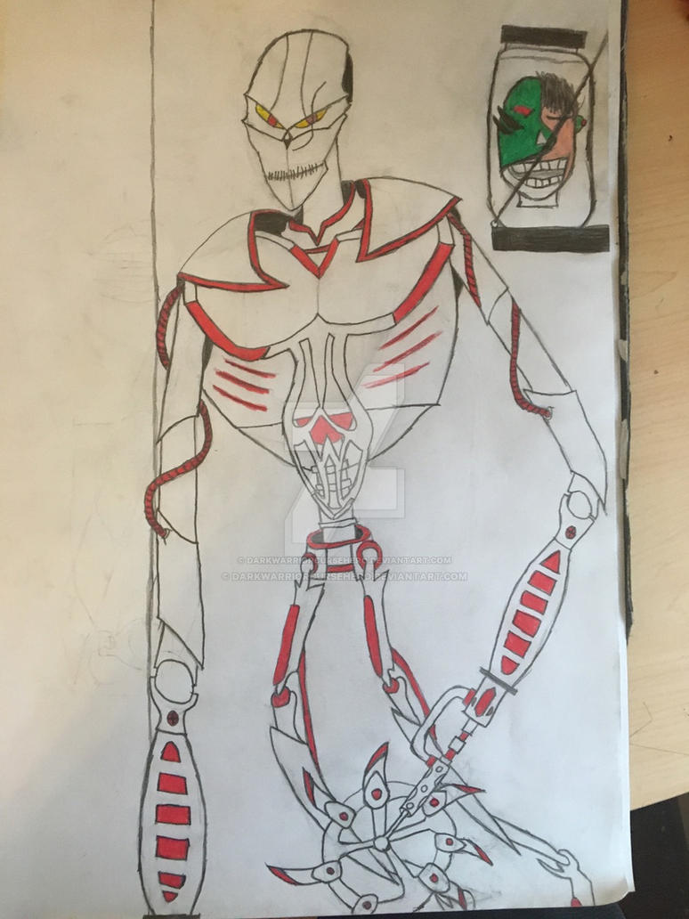 Negative 9 redesign by darkwarriorcursehero