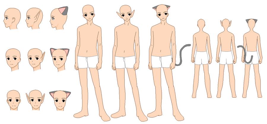 anime male base - 900×419