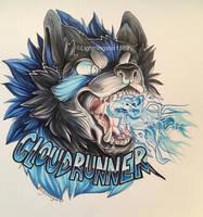 Cloudrunner Badge [COMM] by lightningstar1389