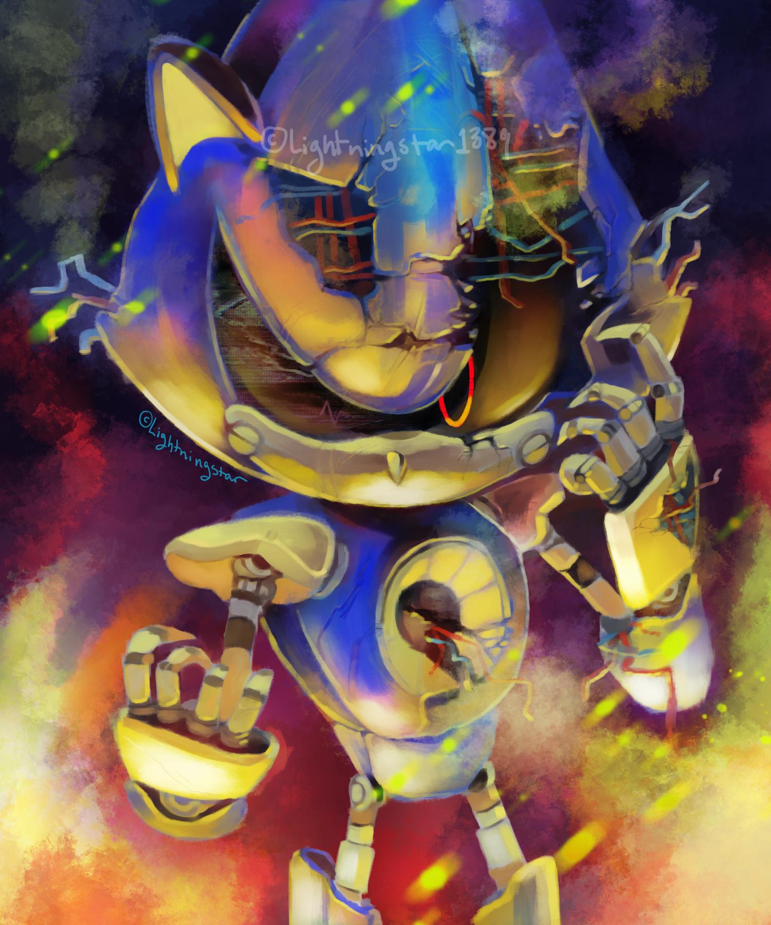 Corrupt Metal By Lightningstar1389 On DeviantArt