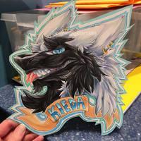 Kieda Badge [COMM] by lightningstar1389