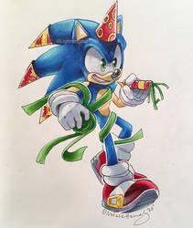 Sonic's 27th! by lightningstar1389