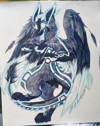 IO The Dutch Angel Dragon [COMM] by lightningstar1389