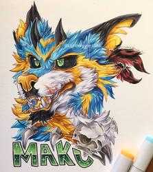 Maku Badge [COMM] by lightningstar1389