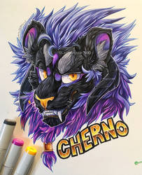 Cherno Badge [Comm] by lightningstar1389