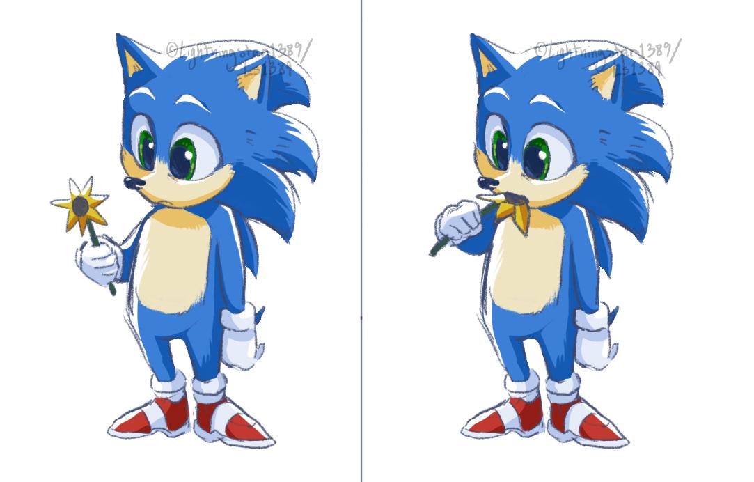 Baby Sonic By Lightningstar1389 On Deviantart