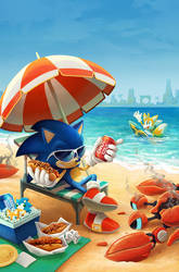 IDW Sonic 41 (B Cover)