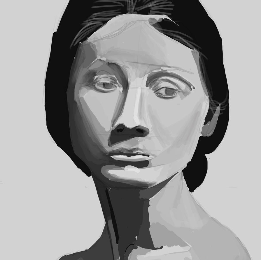 Woman from reference by Mistling