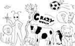 A crazy world xD