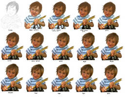 How I did My nephew image by Sabinaa