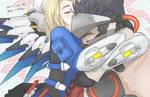 Mercy and Genji by Sabinaa