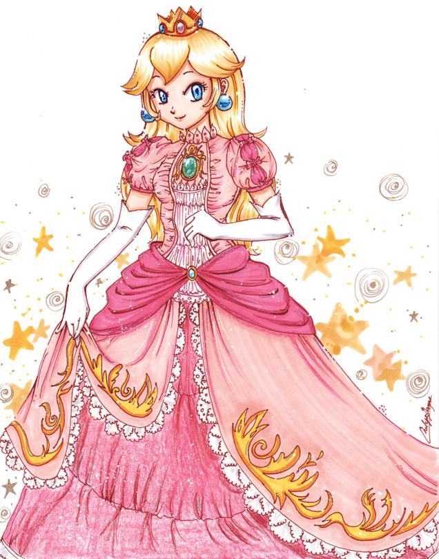 Princess Peach by YunaSakura