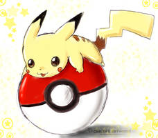 + Pikachu + by YunaSakura